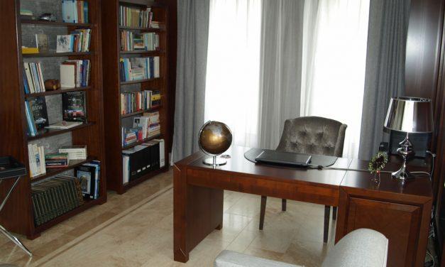 Könyvtár, dolgozó szoba bútorok készítése