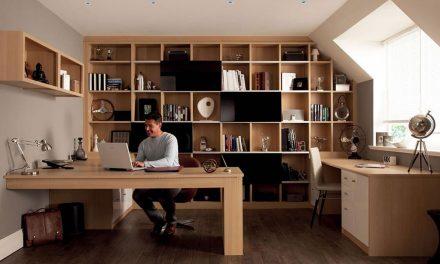 Így rendezzük be stílusosan az otthoni irodánkat